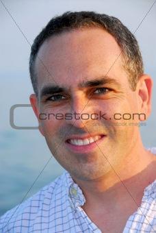 Portrait smile man