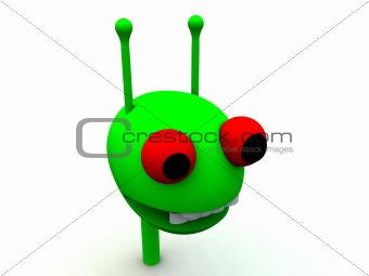 Alien Head 25