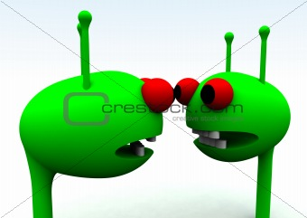 Alien Heads 28