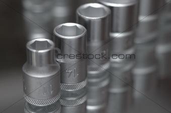 Flare nut wrench set