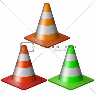 Examples of Cone Shaped Objects http://www.crestock.com/image/1000401-Traffic-cone.aspx