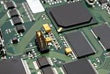 Fragment of a computer printed-circuit-board