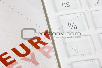 Calculator and Euros