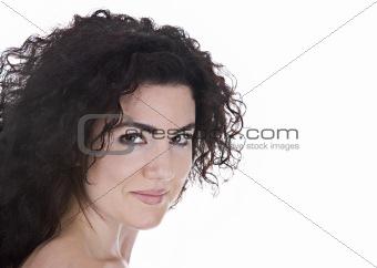 Beautiful Brunette Portrait