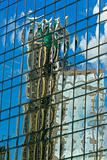 Abstract building reflection