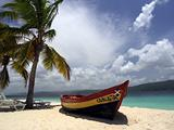 Sandy beach in Caribbean