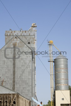 country wheat elevator