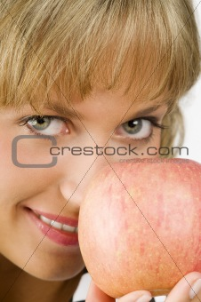 apple close up
