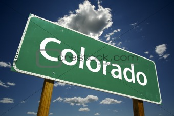 Colorado Road Sign