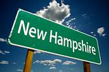 New Hampshire Road Sign