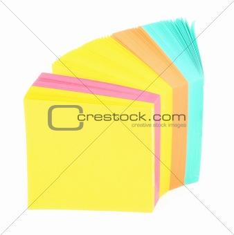 blank adhesive notes #2