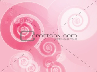 Abstract spiral swirls