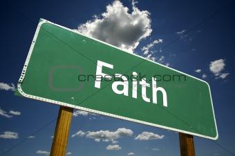 Faith Road Sign
