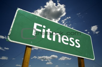 Fitness Road Sign