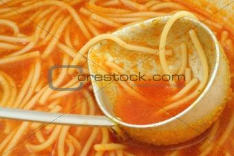 tomato soup close-up