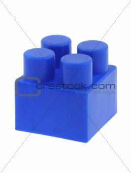 blue building block - no trademarks