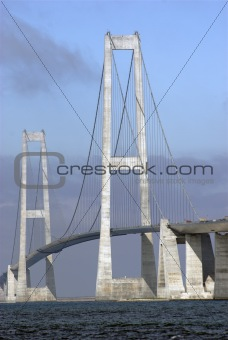 Great Belt Bridge Close-Up