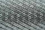 grooved metal surface