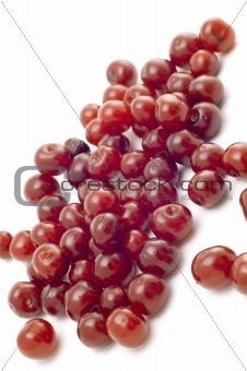 Fresh cherry closeup
