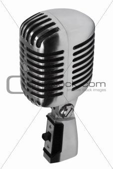 Beautiful old microphone