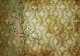 vintage wallpaper with classic pattern