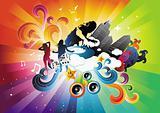 Electro Rainbow Blast
