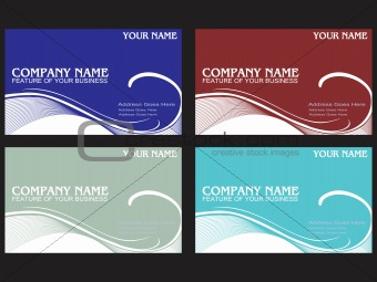 sample visiting card design