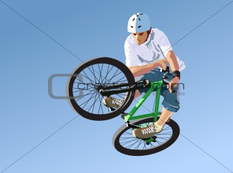 Competitions on dirt jumping.