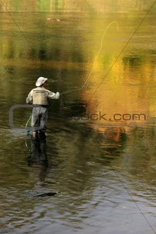 fly fishing recreation