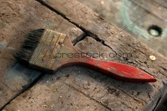 old paintbrush