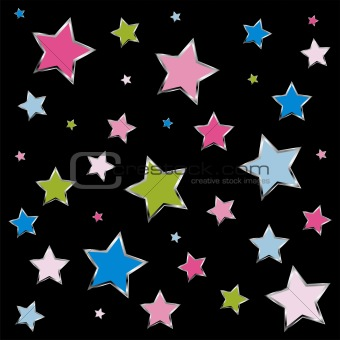 Small stars background