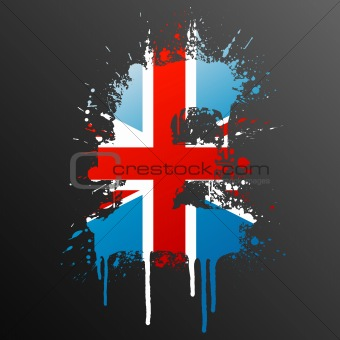English Pound splatter element
