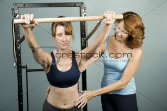 Pilates with a Trainer