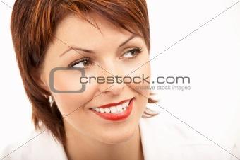 Bright woman