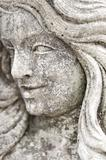 Granite Statue of Womans Face