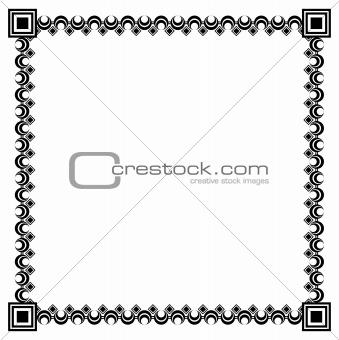 black framework