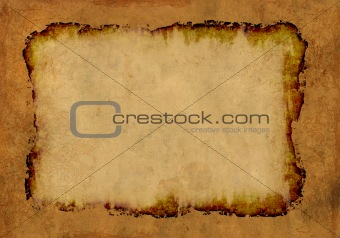 Background - a sheet of the old, soiled paper