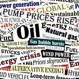 Energy headlines tile