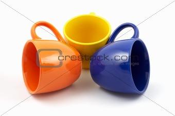 three cups