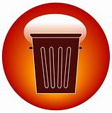 garbage or trash icon