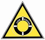 life guard sign