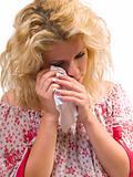 tear woman