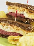 Stacked Reubens