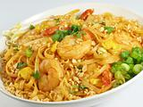Pad Thai and Shrimp