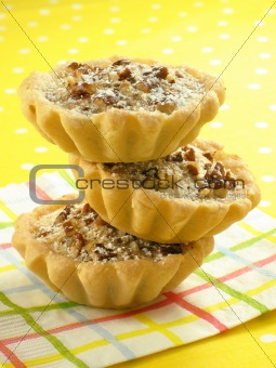 Three Pecan Tarts