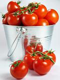 Pail of Tomatoes