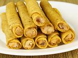 Stack of Taquitos