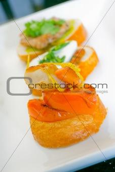 Fresh Tasmanian Scallop on toast