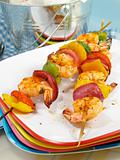 Zesty Shrimp Kebabs