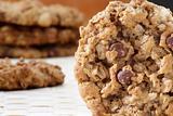 Chocolate chip macadamia cookie